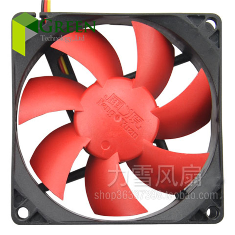 5PCS New DC12V Silent 80MM 8025 80*80*25MM 8*8*2.5CM chassis fan Hydro bearing Computer case fan 3pin and 4D(China (Mainland))