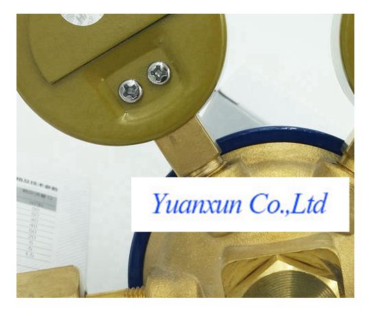 YY08 King Oxygen Regulator large flow of oxygen pressure gauge instrument table