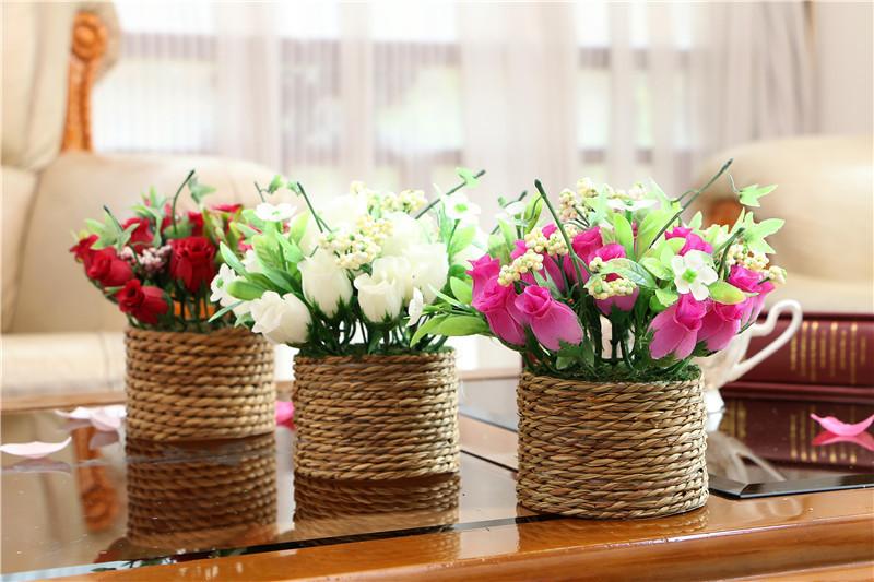 décoration florale bureau