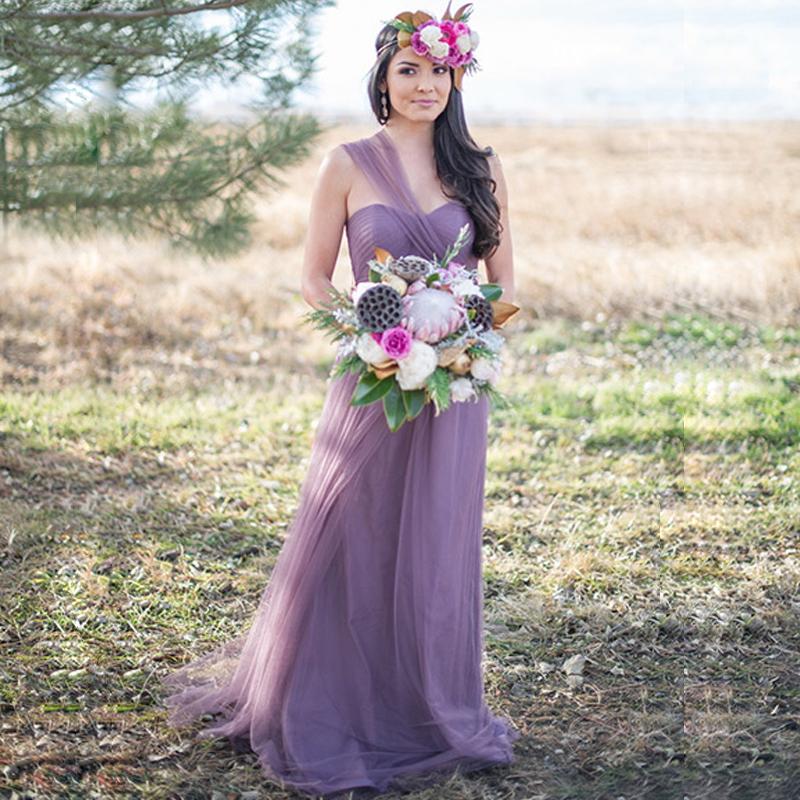 2016 New Arrival Vestidos De Novia Lavender Bridesmaid Dresses Vintage Vestido De Festa Longo US 2 4 6 8 In Stock Promotion(China (Mainland))