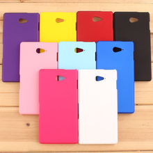 Buy Xperia M2 Case Slim Hard Plastic Frosted Matte Rubber Back Case Cover Sony Xperia M2 dual D2302 D2303 S50h Phone Cases for $1.79 in AliExpress store