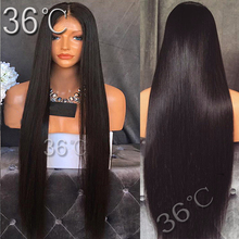 Straight Full Lace Wig Glueless Full Lace Human Hair Wig Brazilian Virgin Hair straight Lace Front Wig For Black /White Women(China (Mainland))