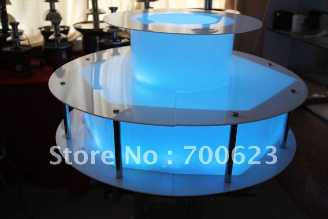 2016 free shipping ANT-8146 Chocolate Fountain LED Base for 16 different colors