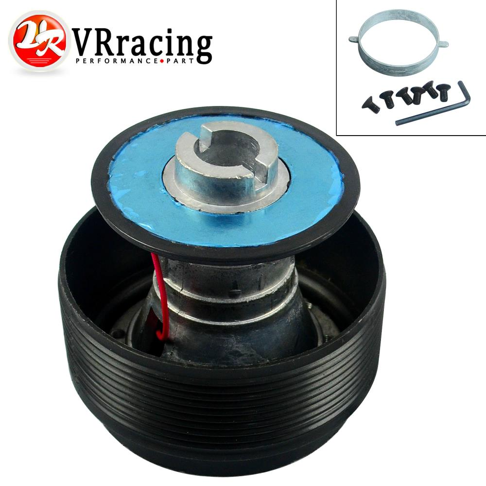 VR RACING-Steering Wheel Quick Release Hub Adapter Snap Off Boss kit Black for Honda VR-HUB12(China (Mainland))