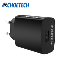 For Qualcomm Quick Charge 3.0 18W Micro USB Desktop Mobile Phone Charger QC3.0 Wall Charging EU Plug for iPhone Samsung Xiaomi(China (Mainland))