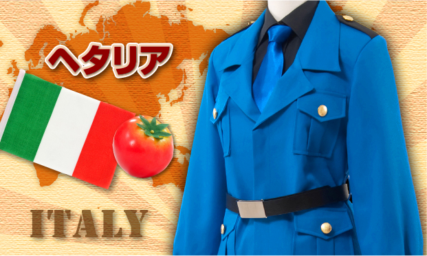 Axis Powers Hetalia APH Italy Cosplay Costume New Hetalia Axis Powers cosplay