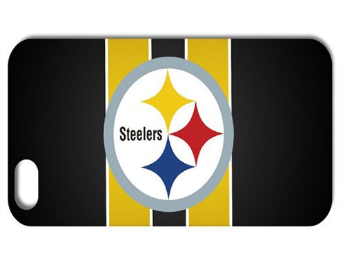 Unique Pittsburgh Steelers Football Team Logo NFL Style Case Cover for iphone 4 4S 5 5S free shipping 1PC(China (Mainland))