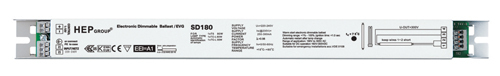 Genuine security SD180 P dimming electronic ballast(China (Mainland))