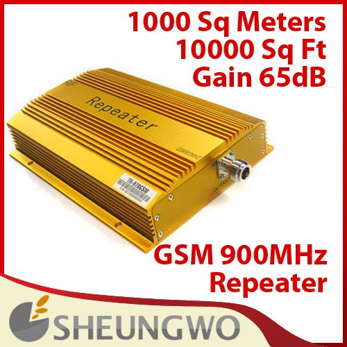 Direct Marketing 65DBI TH-970GSM Mobile GSM signal booster amplifier booster gsm signal amplifier Free shipping(China (Mainland))