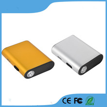 fast charging Smartphone portable rohs 4400mah power bank with led torch(China (Mainland))
