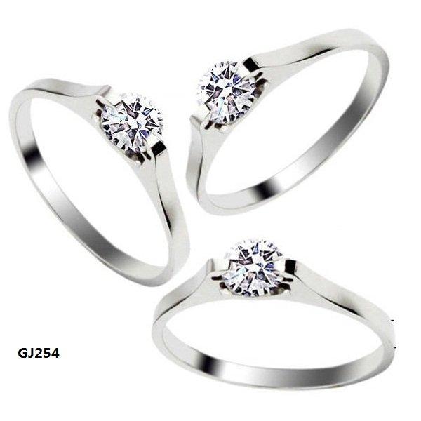 rings silver simple cz zircon rings wedding rings engagement ringsjpg in italy wedding - Plastic Wedding Rings