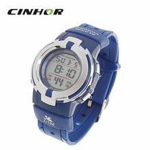 Casual Fashion Waterproof Digital Wrist Watch Outdoor Sport Watch For Women and Men w Alarm Stop