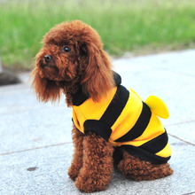Buy Pets Costume Coat Clothes Jackets Sweater Soft Cute Funny Small Bee Clothing Winter Warm Puppy Cats Dogs Apparel for $5.69 in AliExpress store