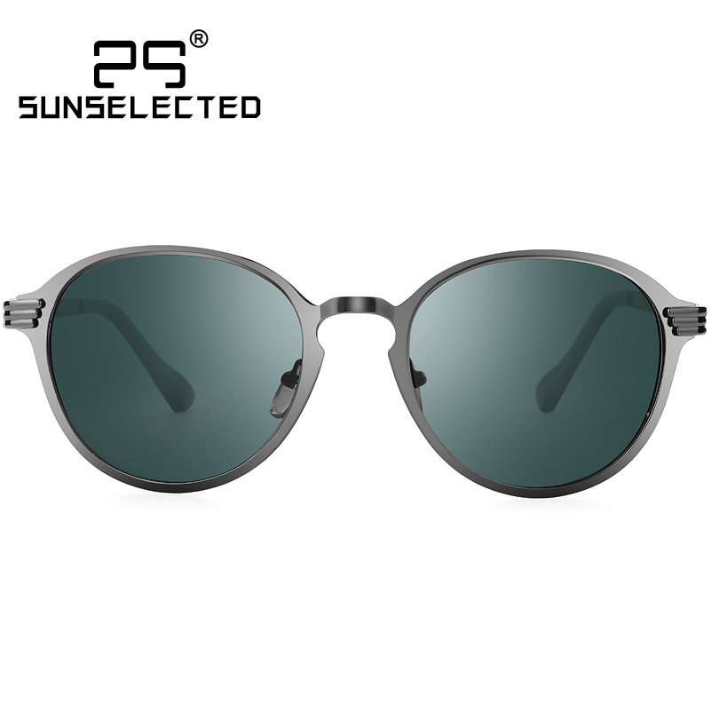 Polarized Sunglasses Men Vintage Round Sun Glasses for Mens Sunglasses Outdoor Driving Oculos De Sol Male Eyewear 8822(China (Mainland))