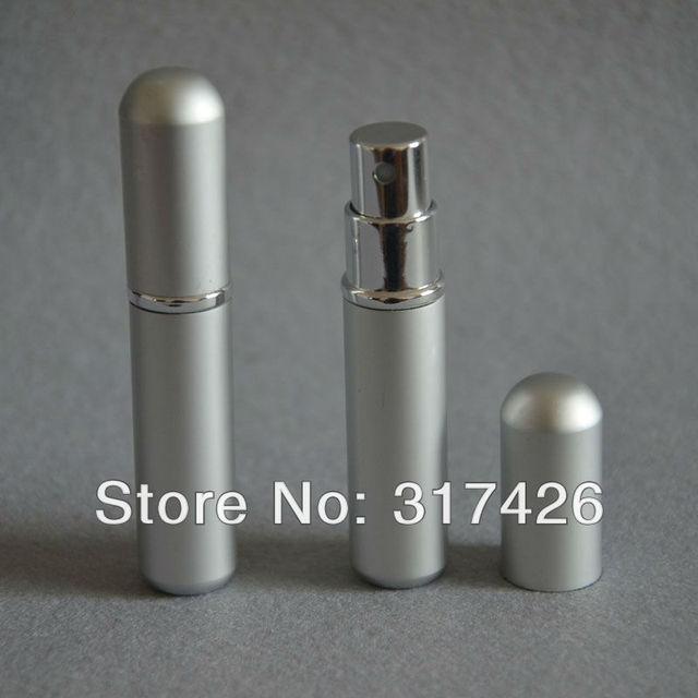 Free Shipping- wholesale 3ml aluminum perfume bottle,  Refillable Spray,empty metal spray bottle