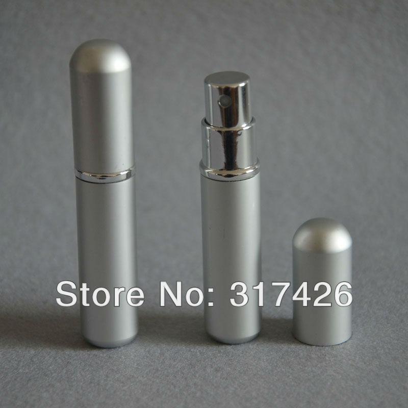 Free Shipping- wholesale 3ml aluminum perfume bottle, Refillable Spray,empty metal spray bottle(China (Mainland))