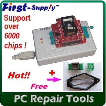 Free Shipping! MiniPro TL866cs True USB Willem TL866  Programmer + free 2 adapters / bios programmer for Windows7 64MBbits, hot!