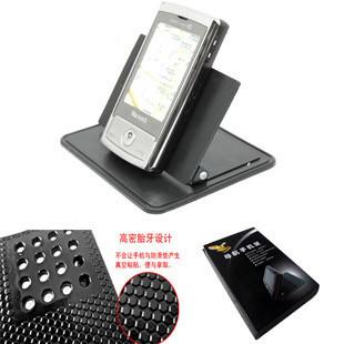 Car navigation universal mount belt the magic silica gel tablets slip-resistant auto supplies universal gps mobile phone holder