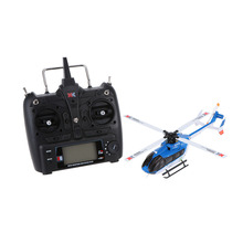 Original XK EC145 K124 6CH 3D 6G System Brushless Motor RTF RC Helicopter(China (Mainland))
