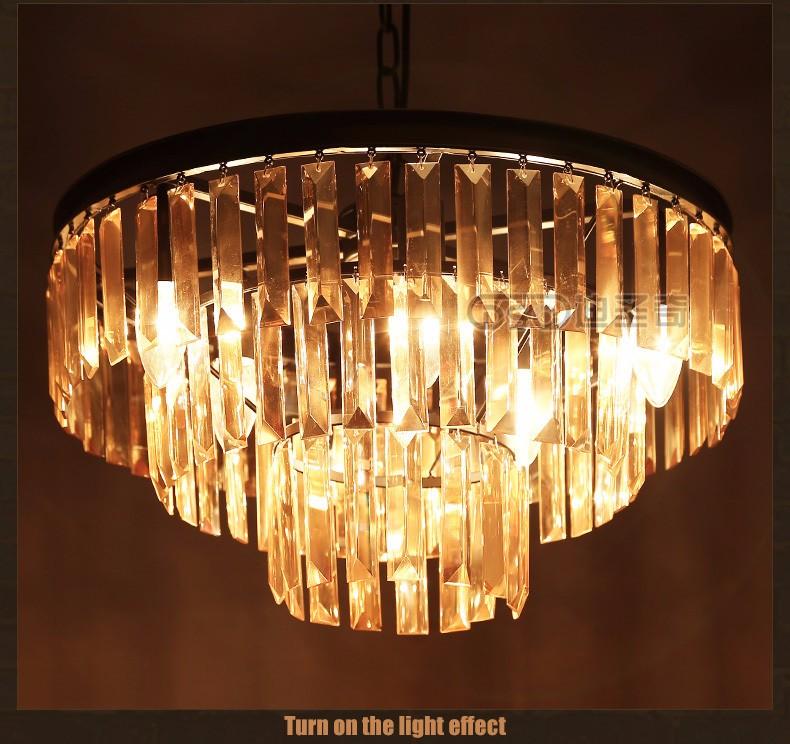 Купить Nordic American Vintage Индустриальном Стиле Потолочный Светильник