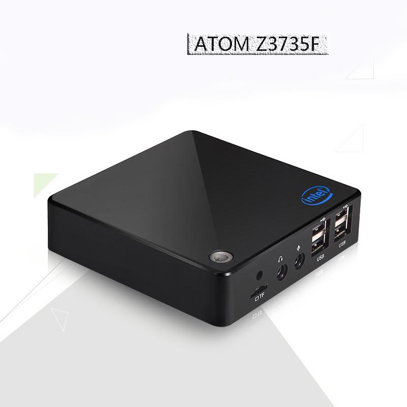 HOT X-Z3735F 1.33GHZ Fanless Mini-PC Tv Box Mini PC  Support Win 10, WIFI, Webcam, HDMI,<br><br>Aliexpress