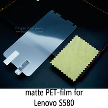 Glossy Clear Lucent Frosted Matte Anti glare Tempered Glass Protective Film On Screen Protector For Lenovo S580 phone