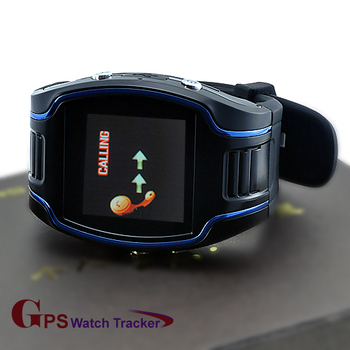 GPS Personal Tracker Watch AC1100, Supporting SMS, Mobile Calling And Web Base Real Time Tracking.