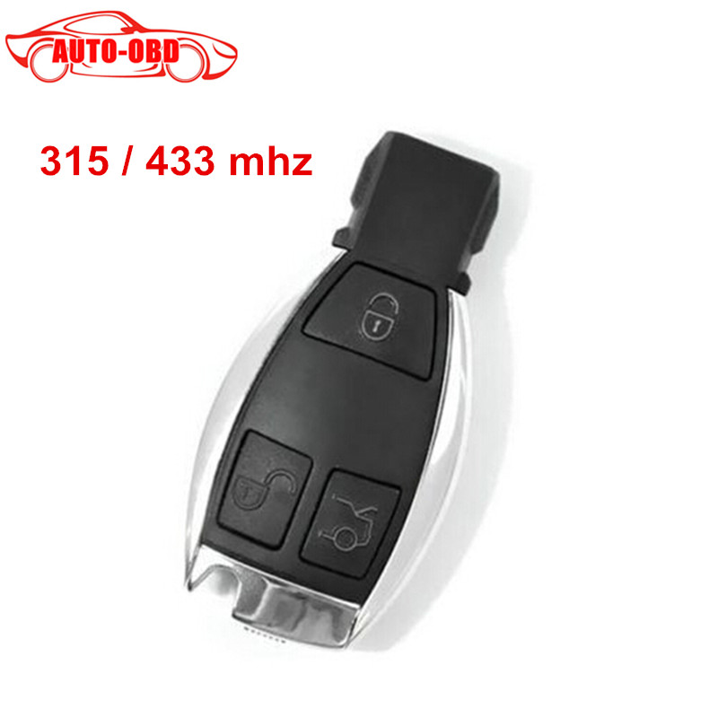 High quality 3 Buttons Smart Remote Key for Mercedes&Benz NEC Chip 315/433MHz Optional Supports MB Car Models After Year 2000(China (Mainland))