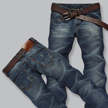HOT!Free Shipping retail & wholesale brand jeans men pants ,Leisure&Casual pants,Zipper fly Straight Cotton Men Jeans trousers