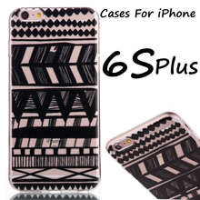 Cartoon Painting TPU Mobile Phone Cases Bags Case For iPhone 5C 5S 6 6S Plus Phone Back Cover