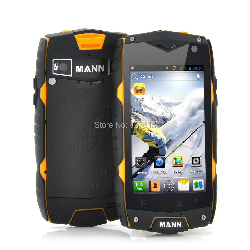 Hot phone Top selling MANN ZUG3 A18 Qualcomm Shockproof mobile phone ip68 waterproof rugged cell phone Quad core NO.1(China (Mainland))
