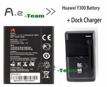 Лот = 1 шт. стол док зарядное устройство + 1 шт. Huawei Y300 HB5V1 1730 мАч замена аккумулятор для Huawei Y300 Y300C Y511 Y500 T8833