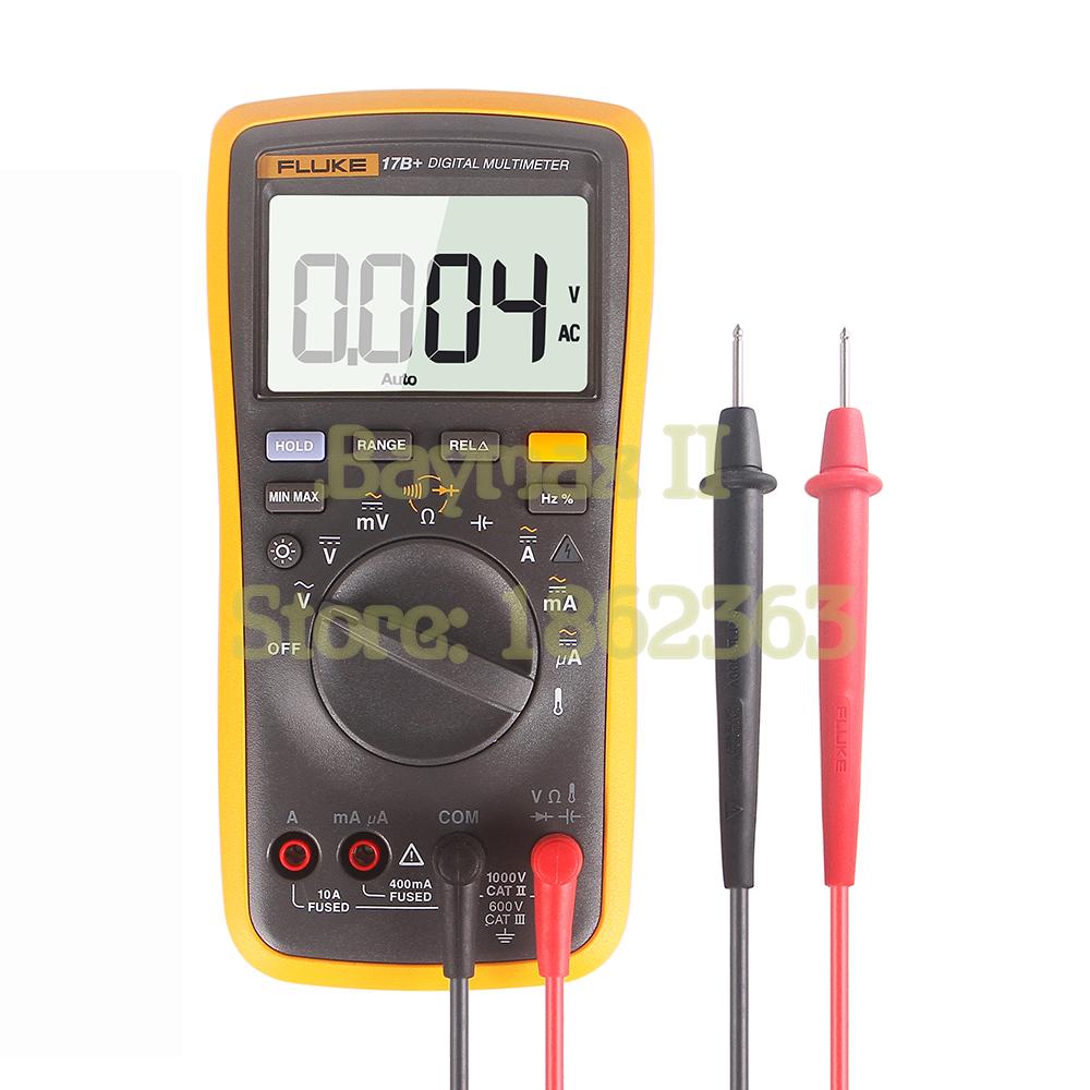 Current Probe For Multimeter : Fluke b ac dc voltage current capacitance ohm auto