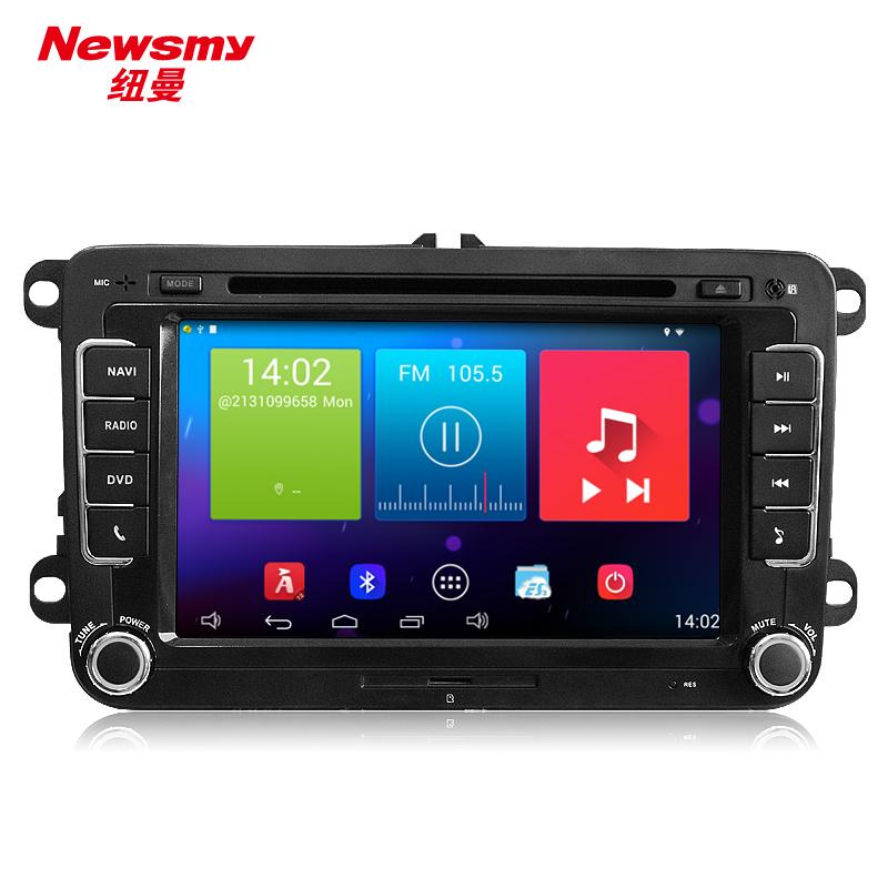 Newsmy carpad3 NR5261 android 4.4 quad core car dvd 8 inch for VW GOLF 4 5 Polo Bora CC JETTA PASSAT Tiguan SKODA OCTAVIA 2G+32G(China (Mainland))