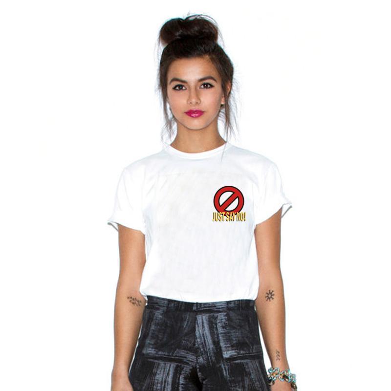2016 hot summer punk rip white women t shirt crack kills fun printed alien tees couples dresses plus size(China (Mainland))