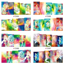 Buy 12 Pcs Water Transfer Stickers Nail Art Tips 3 Designs Beauty Nails Foil Wraps Diy Sticker Decal JH369 for $2.04 in AliExpress store