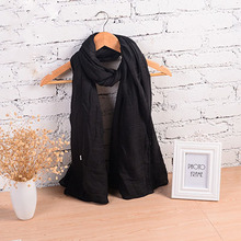 New Fashion Winter Pure Women Scarf  Long Cotton Candy Colors Shawl 18 Colors Warm Soft Women Muffler(China (Mainland))