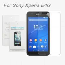 For Sony Xperia E4g E2003 E2006 E2053 E2043 E2033,3x CLEAR Screen Protector Film For Sony Xperia E4g + Cleaning cloth