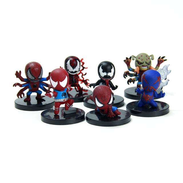 2015 новые мстители человек паук человек паук 7 стиль / комплект коллекция игрушек TAsm7 бесплатная доставка