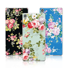 Buy Luxury Floral Painted Case Sony Xperia C6 Xperia XA Ultra F3212 F3216 F3211 6'' Case Cover Flower Case Sony C6+Free Pen for $1.35 in AliExpress store