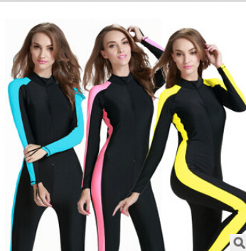 SBART Snorkeling Swimming Surfing Rash Guard Women UPF50+ Quick-Dry Diving Suit Swimsuit Clothing One Pieces Wetsuit Swimwear<br><br>Aliexpress