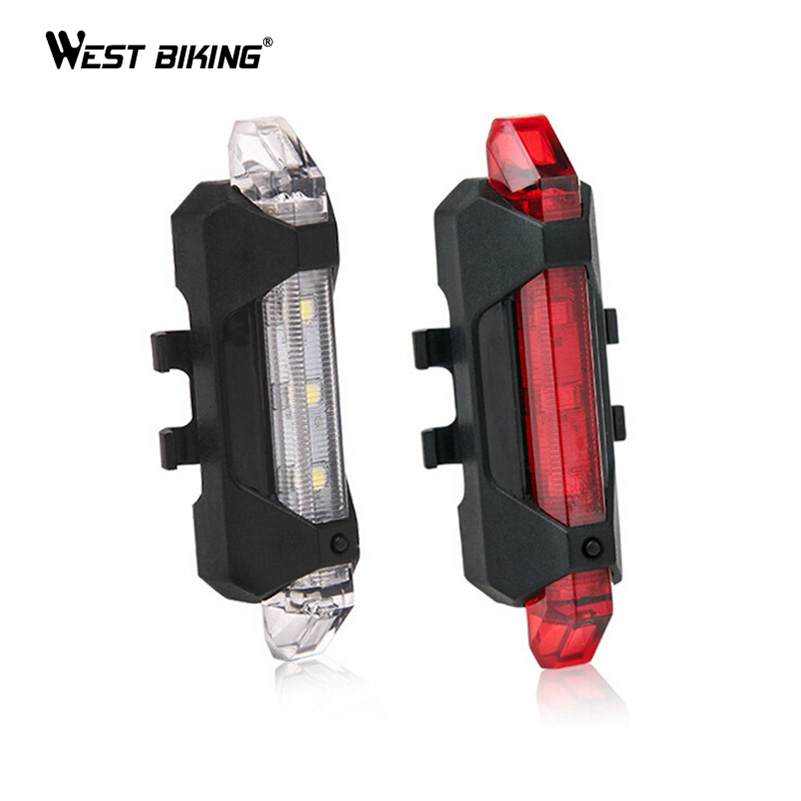 Rechargeable Mountain Bike Rear Light Bicycle Seatpost Lamp Bike Accessories Cycling Back Lamp Led Bicicleta Road Bicycle Lights(China (Mainland))