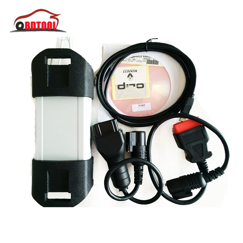 Free Shipping OBD2 Renault CAN Clip V157 Diagnostic Interface With Full Chip Newest Software 157 Version(China (Mainland))