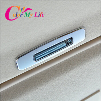 ABS chrome sunroof handle cover inside door handle stickers for ford focus 2 3 mk2 mk3 sedan hatchback 2009 2010 2011 2012 2013(China (Mainland))