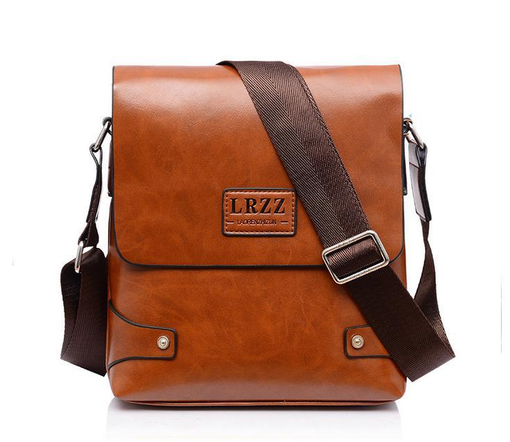 Man Messenger Bag PU Leather Men Bags Male Casual Vintage School Bolsa Shoulder Travel Fashion 2015 New Free shipping(China (Mainland))