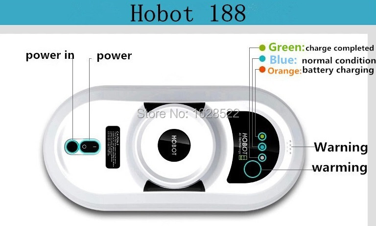 2015 Hot second generation Vacuum Cleaner Glass Ceramic tile Cleaning Robot Winbot Hobot 188 Remote Control Automatic(China (Mainland))