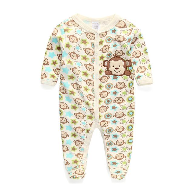 Baby Boy Девушка Rompers Костюм Новорожденного Тела Детская Одежда Хлопок Bebes Infantil Menino Детской Одежды Bebe Комбинезоны для Детей
