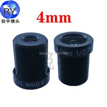 Buy 4mm 2pcs/lot 1/2.7 F1.8 CCTV Board Lens 2MP 2 megapixel MTV IR CCTV Lens HD camera M12 Mount 720P / HD 1080P IP Camera for $11.32 in AliExpress store