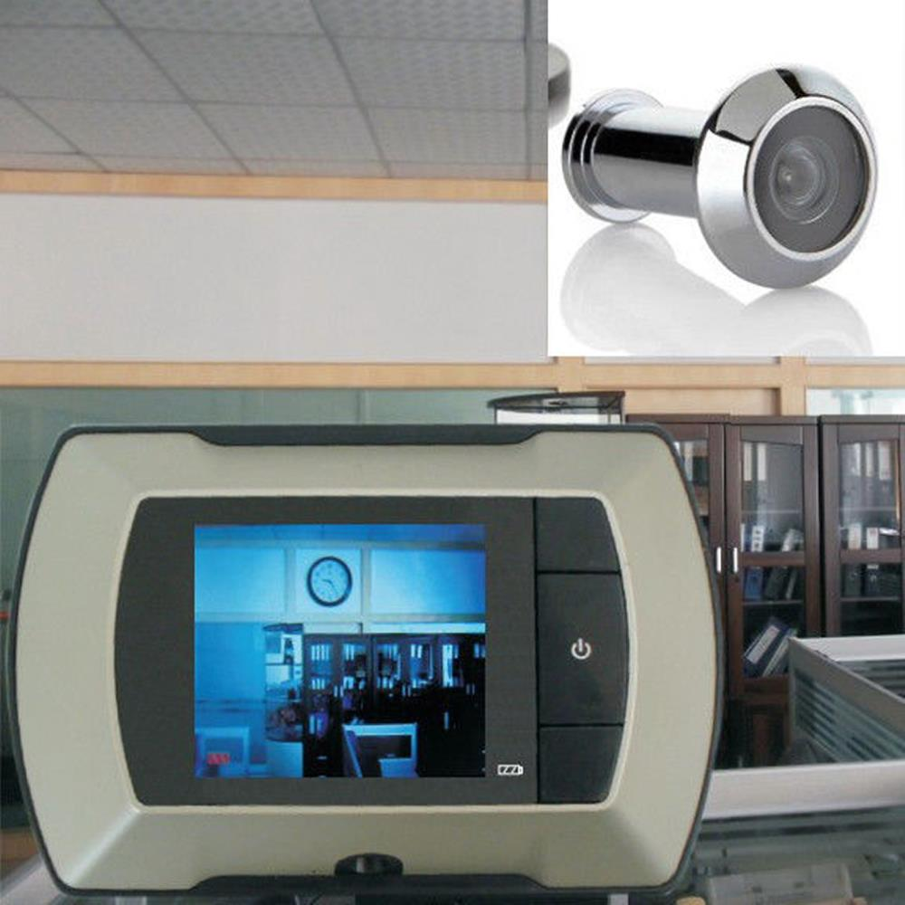 "1pcs High Quality 2.4"" LCD Visual Monitor Door Peephole Peep Hole Wireless Viewer Camera Video(China (Mainland))"