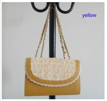 fashion evening handbag,Size: 26cmx16cm,PU + Accessories,5different colors,strap,promation for christmas! Free shipping